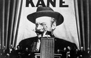 "4. ""Гражданин Кейн"". Citizen Kane (1941), shot by Gregg Toland"