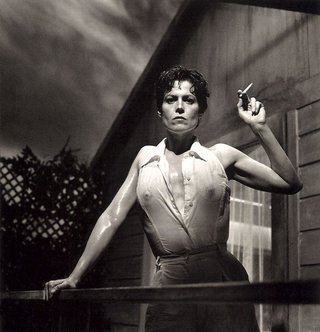 Sigourney Weaver © Helmut Newton