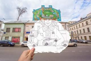 Работы студентов  © Ксения Старкова и Сергей Птушкин