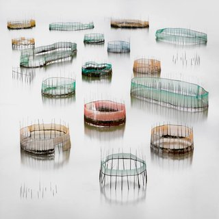 Hilda Champion, Colorful Crab Cages, Annual Photography Awards 2019