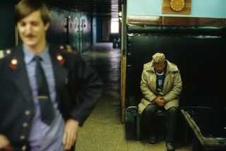 Норильск. Вытрезвитель. 1993 год. © Жан-Поль Гийото