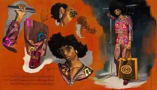Gucci SS18 campaign