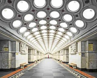© David Burdeny, станция метро «Электрозаводская», Москва