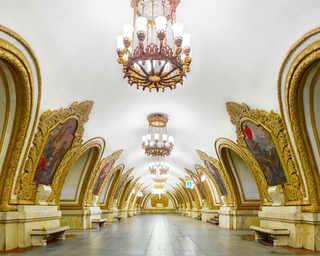 © David Burdeny, станция метро «Киевская», Москва