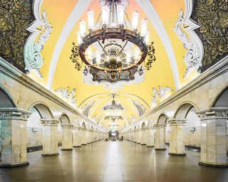 © David Burdeny, станция метро «Комсомольская», Москва