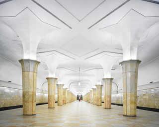 © David Burdeny, станция метро «Кропоткинская», Москва