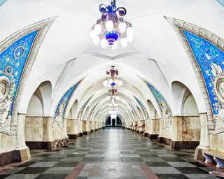 © David Burdeny, станция метро «Таганская», Москва