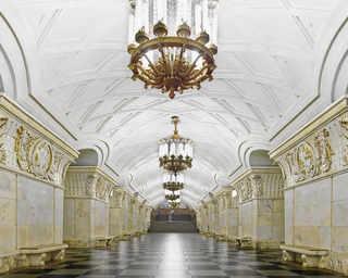 © David Burdeny, станция метро «Проспект Мира», Москва