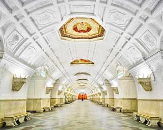 © David Burdeny, станция метро «Белорусская», Москва