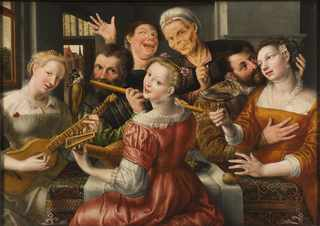 A Merry Company (Jan Massys)