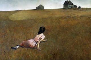 """Andrew Wyeth, """"El mundo de Christina"""", 1948"""