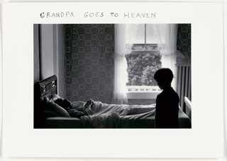 Grandpa Goes to Heaven #1, by Duane Michals