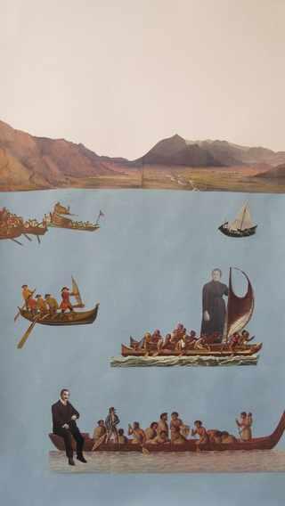 navegando en el Egeo | Carmen Cruzat | Chile