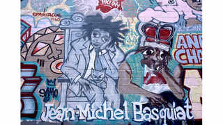 © Gregoire Alessandrini, 1993 Basquiat mural