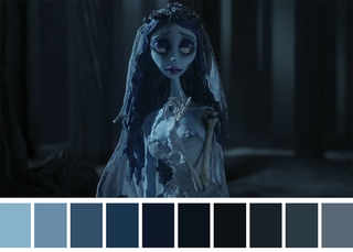 Corpse Bride (2005) Dir. Tim Burton, Mike Johnson