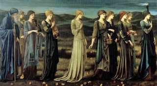 Edward Burne-Jones, The Wedding of Psyche, 1895
