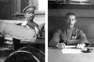 Генерал Корнилов, совершил неудачную попытку военного переворота (Корниловское выступление) с целью ограничить власть большевиков и других радикалов / Генерал Верховский, противился выступлению Корнилова, выступал за мир с Германией
