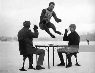 Joe Moore, участвовал в Олимпийских Играх в Шамони 1924 года