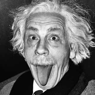 Arthur Sasse, Albert Einstein Sticking Out His Tongue (1951)
