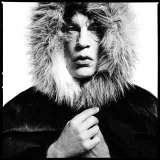 David Bailey, Mick Jagger, Fur Hood (1964)