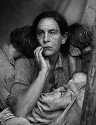 Dorothea Lange, Migrant Mother, Nipomo, California (1936)