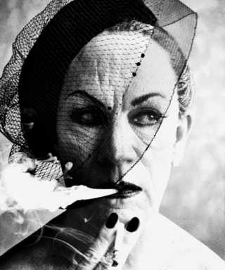 William Klein, Smoke and Veil, Paris Vogue (1958)