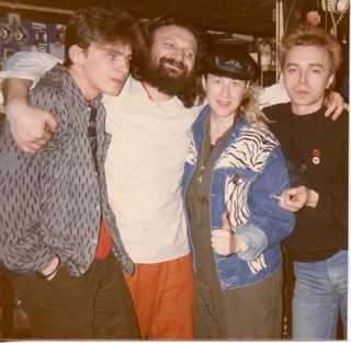 Африка, Коля Васин, Стингрей & Костя Кинчев, середина 80х