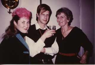 Джоанна, Борис и жена шведского консула в Ленинграде