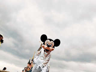 © Alex Majoli / FRANCE. Marne-la-Vallée. 2009. Disneyland Paris.