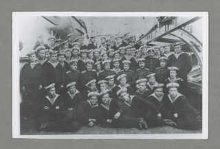 "Cruiser ""Aurora""- groups of Iungov School, 1911"