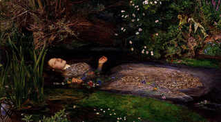 Ophelia. Sir John Everett Millais, 1852