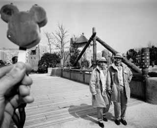 © Carl De Keyzer / FRANCE. Marne la Vallee. Opening ceremony of Eurodisney, Disneyland Paris. 1992.