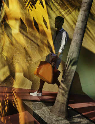 photo by Harry Gruyaert; Commercial, Hermes Campaign