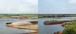 Постройка плотины близ села Кузминского. 1910-2012 | © К. Лебедев / www.prokudin-gorsky.org