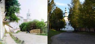 Авраамиев монастырь, Смоленск. 1910-2008 | © В. Ратников / www.prokudin-gorsky.org