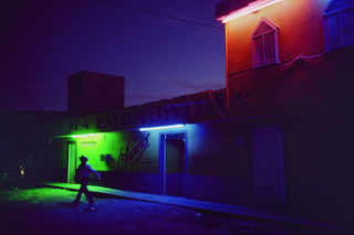 Red light district. Most of the women who work here are from Central America. Comitan. Mexico. 2007.