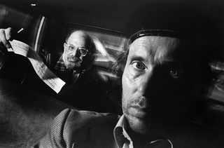 Self-Portrait with Passenger Allen Ginsberg, 1990