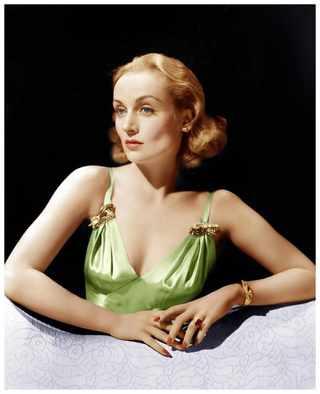 Актриса Кэрол Ломбард, 1940