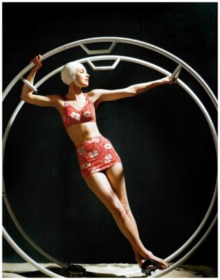 John Rawlings для журнала Glamour, 1942