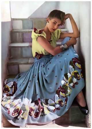 Фото Louise Dahl Wolfe для журнала Harper's Bazaar, 1942