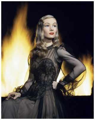 Актриса Вероника Лэйк. Фото Eliot Elisofon, 1942