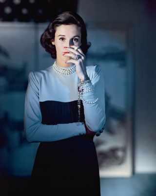 """Barbara """"Babe"""" Рaley. Фото John Rawlings для Vogue, 1946"""