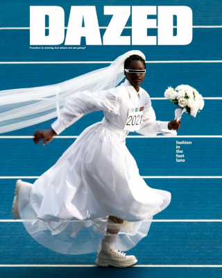 The summer 2021 issue, Dazed  