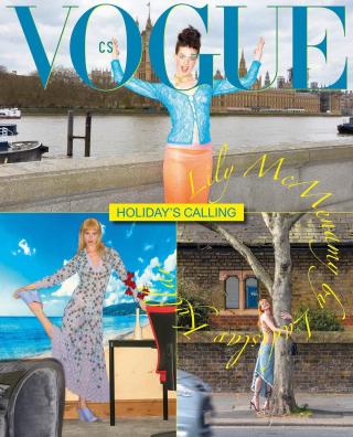 Vogue Czechoslovakia 2021, June, Lily McMenamy