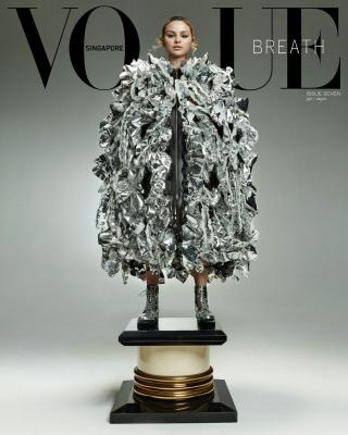 Vogue Singapore 2021, July/August, Selena Gomez