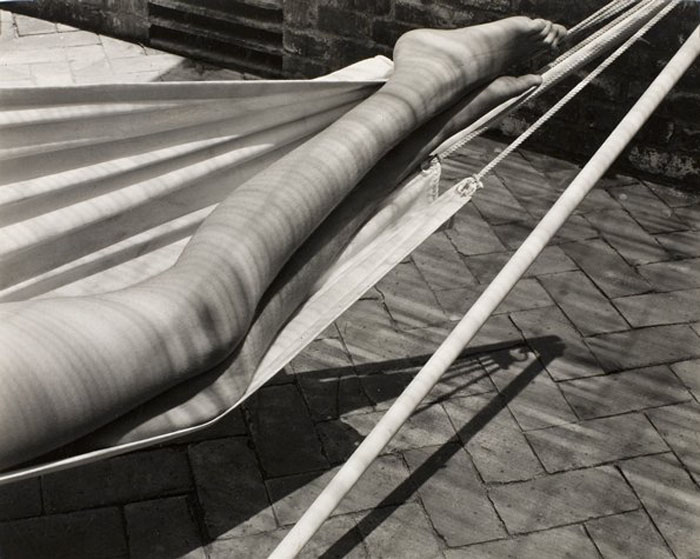 edward weston legs in hammock, laguna, 1937.jpg